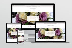 Flowers by Anna - website redesign by Fat Cat Design