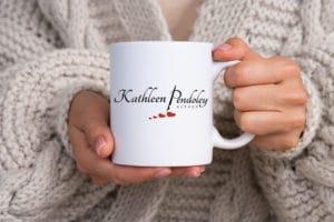 logo design for Romance Author Kathleen Pendoley