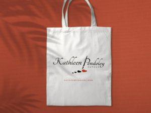 logo design for Author Kathleen Pendoley