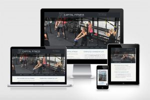 Website for Chris Capilli and Capital Fitness in Carver, Massachusetts