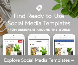 Creative Market Social Media Templates