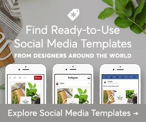 Creative Market Ready to Use Social Media Templates