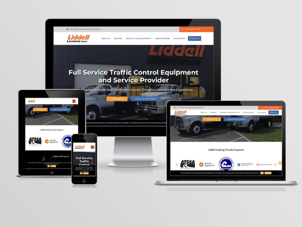 Liddell Leasing - new website by Fat Cat Design