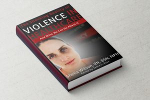 Stop Healthcare Violence Book Cover Design