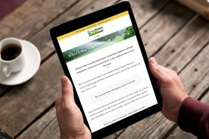 Mobile Responsive Website Design for Green Horizons Landscaping, Weymouth, Massachusetts - by Fat Cat Design