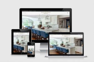 website for interior designer Gale Michaud