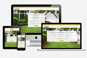 Green Horizons Landscaping and Property Maintenance - website redesign project