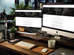 multiple screen displays for Massachusetts residential real estate appraisal firm website