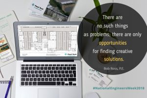 National Engineers Week 2018 - article by Bob Ross, PE, of Food Tech, and edited by Jamie Ross of Fat Cat Design