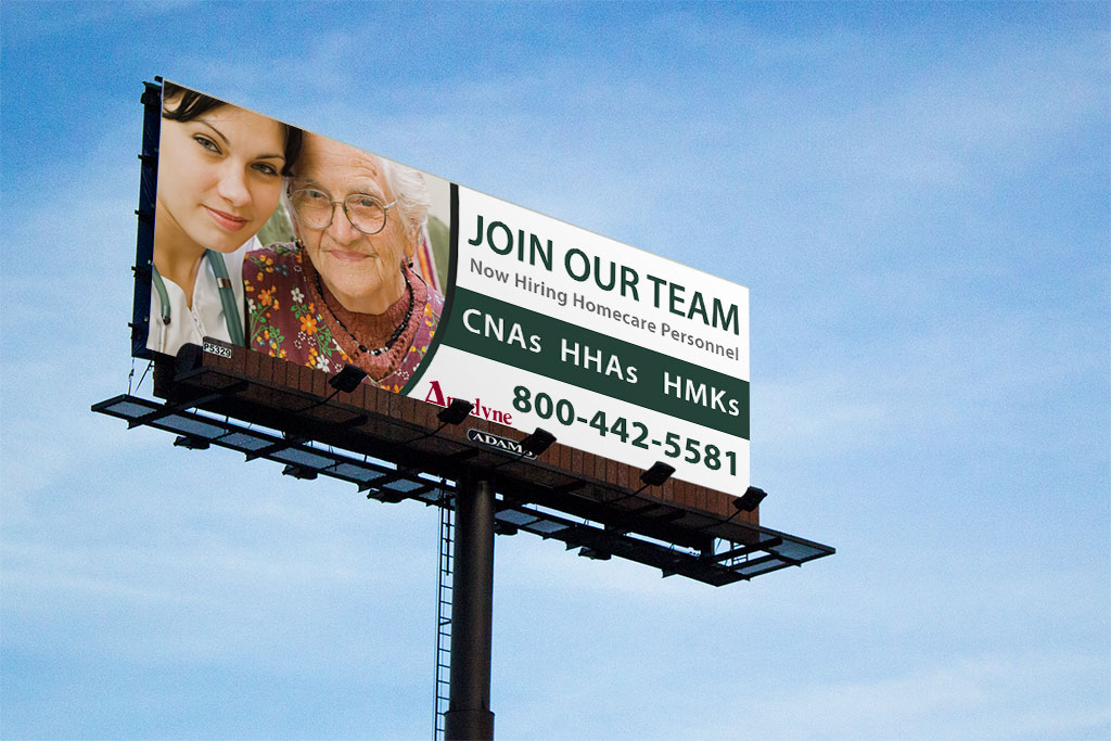 billboard for Anodyne Corporation