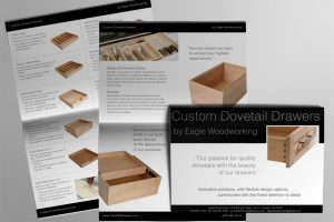 Product Catalog and company brochure for Eagle Woodworking