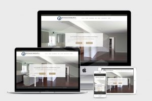 Home page of Ubaldo Construction and Remodeling - website redesign by Fat Cat Design