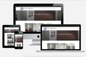 Project portfolio page for Ubaldo Construction and Remodeling - website redesign by Fat Cat Design