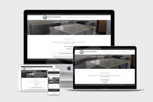 Services page of Ubaldo Construction and Remodeling - website redesign by Fat Cat Design