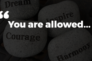 You Are Allowed: article by Bob Ross of Food Tech and Jamie Ross of Fat Cat Design